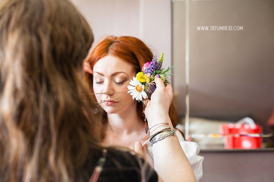 Bohemian bride, boho bride, floral headwear for brides, outdoor wedding, Norfolk, Norwich, Tatum Reid (27)
