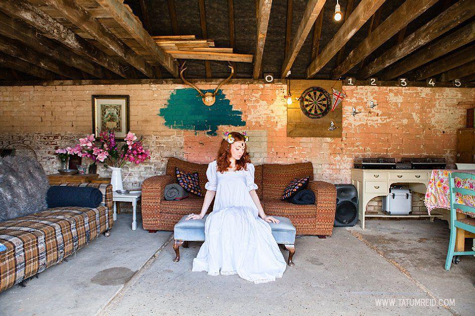 Bohemian bride, boho bride, floral headwear for brides, outdoor wedding, Norfolk, Norwich, Tatum Reid (26)