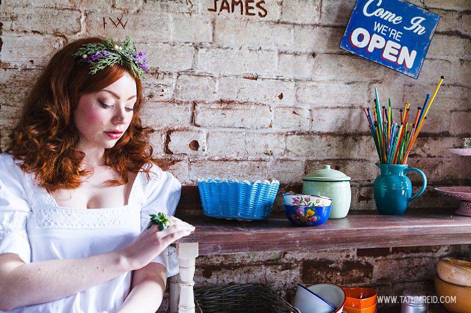 Bohemian bride, boho bride, floral headwear for brides, outdoor wedding, Norfolk, Norwich, Tatum Reid (22)