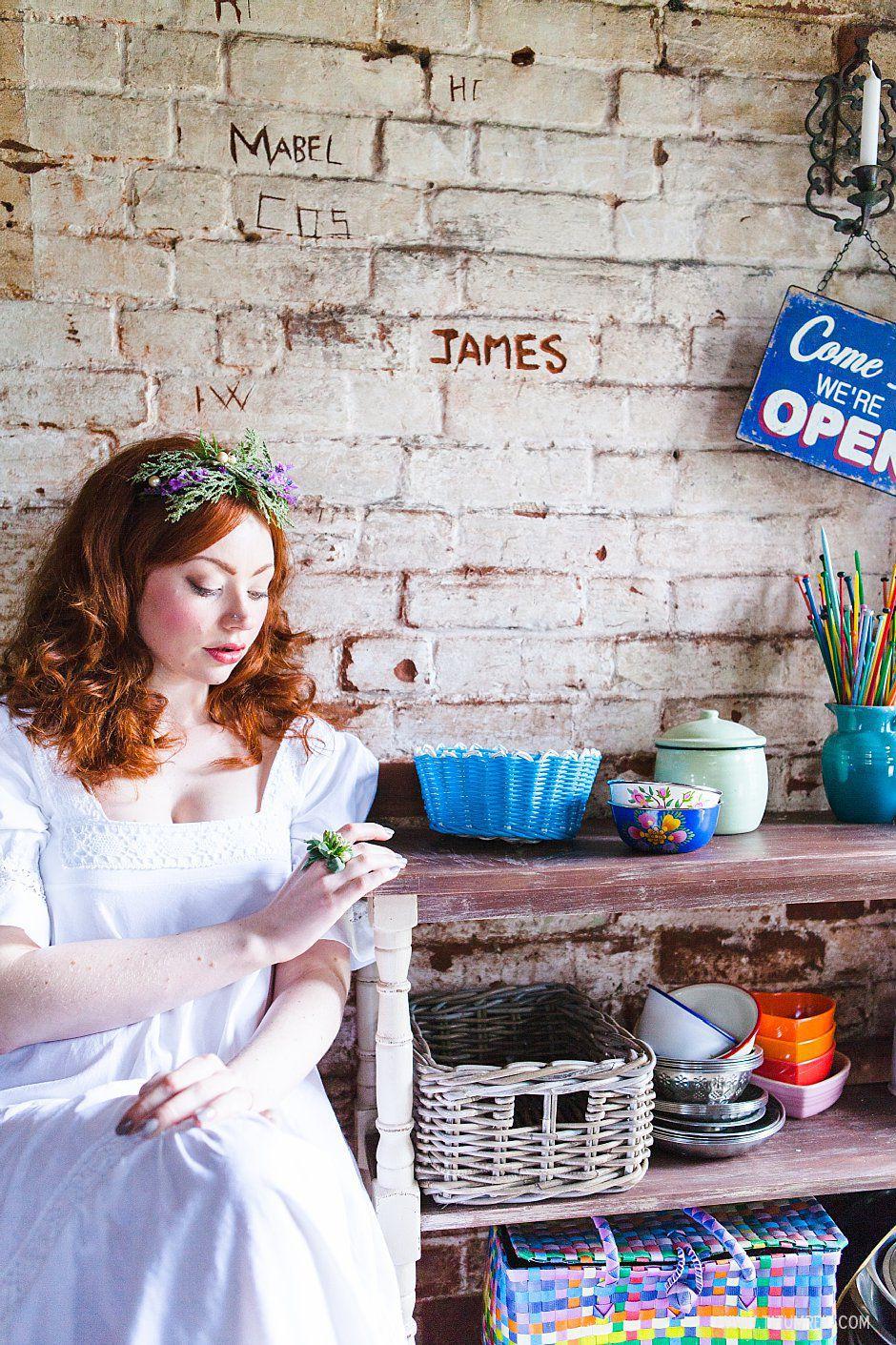 Bohemian bride, boho bride, floral headwear for brides, outdoor wedding, Norfolk, Norwich, Tatum Reid (21)