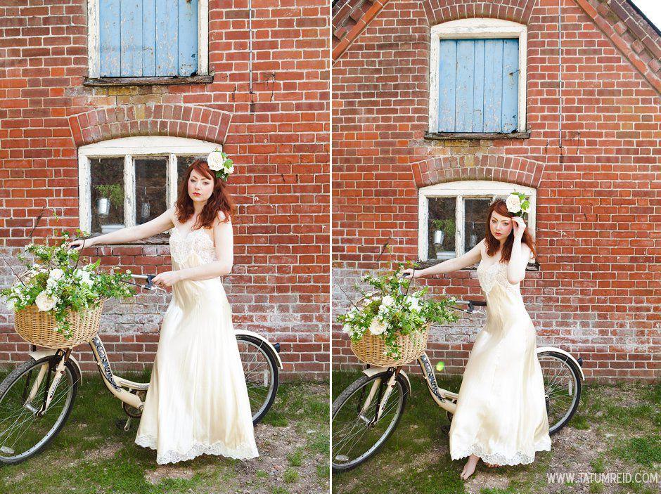 Bohemian bride, boho bride, floral headwear for brides, outdoor wedding, Norfolk, Norwich, Tatum Reid (16)