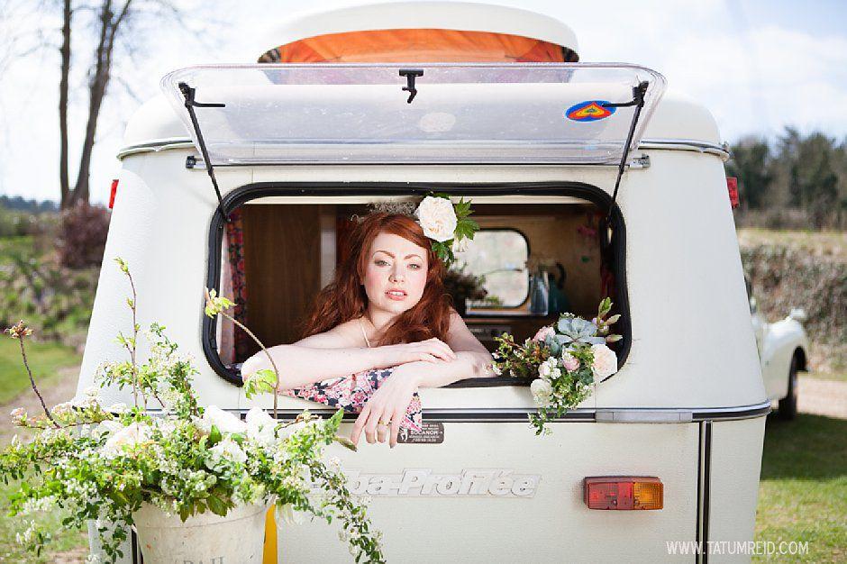 Bohemian bride, boho bride, floral headwear for brides, outdoor wedding, Norfolk, Norwich, Tatum Reid (10)