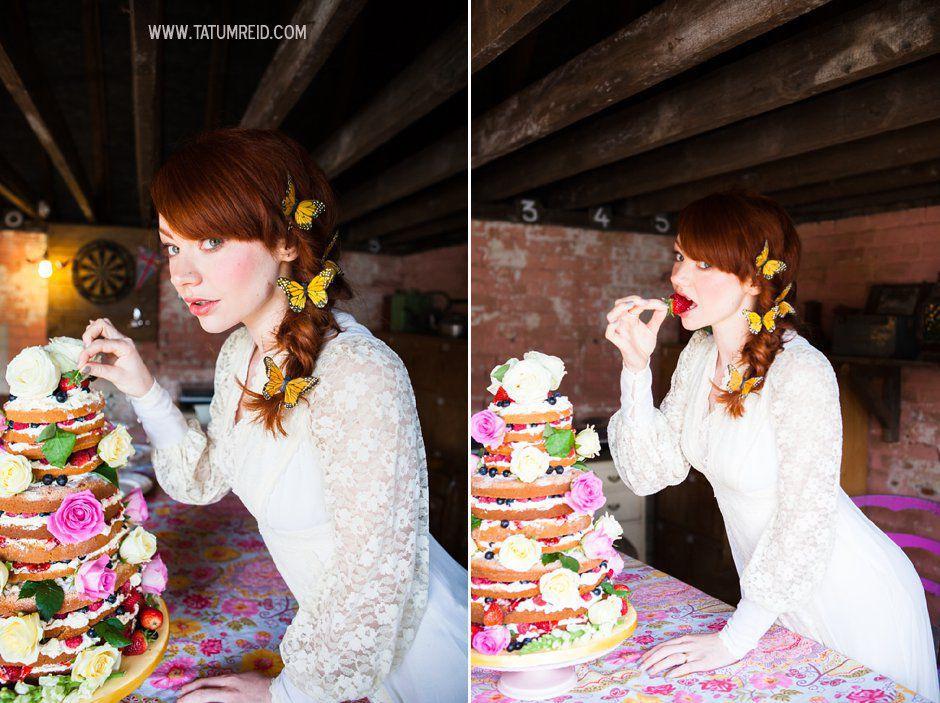 Bohemian bride, boho bride, floral headwear for brides, outdoor wedding, Norfolk, Norwich, Tatum Reid (7)