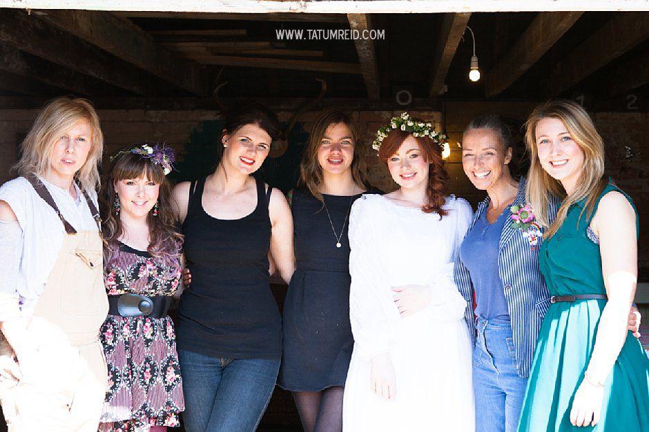Bohemian bride, boho bride, floral headwear for brides, outdoor wedding, Norfolk, Norwich, Tatum Reid (1)