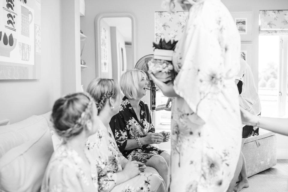 Garden Barn Suffolk wedding photography_tatum reid_blush pink bride_pastel dresses, multicolour, diy wedding decor_succulents_paper flowers_garden games_newmarket (65)