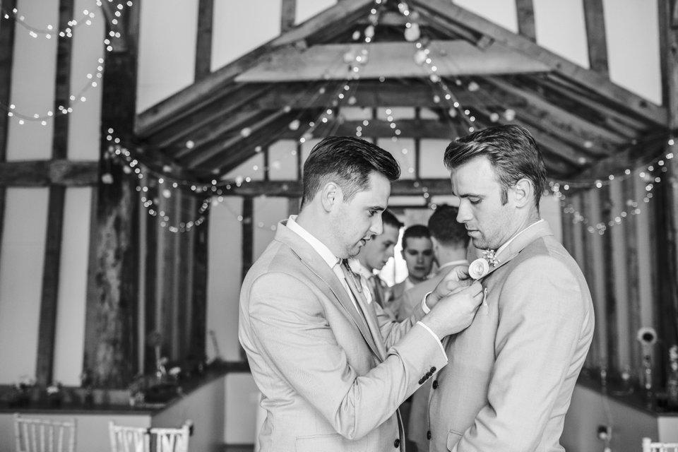 Garden Barn Suffolk wedding photography_tatum reid_blush pink bride_pastel dresses, multicolour, diy wedding decor_succulents_paper flowers_garden games_newmarket (58)