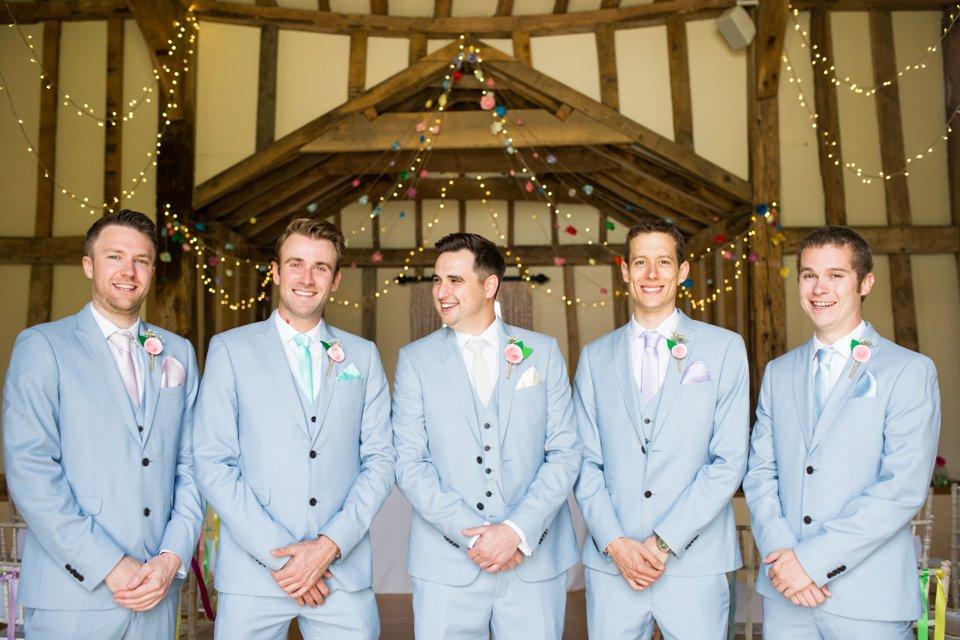 Garden Barn Suffolk wedding photography_tatum reid_blush pink bride_pastel dresses, multicolour, diy wedding decor_succulents_paper flowers_garden games_newmarket (57)