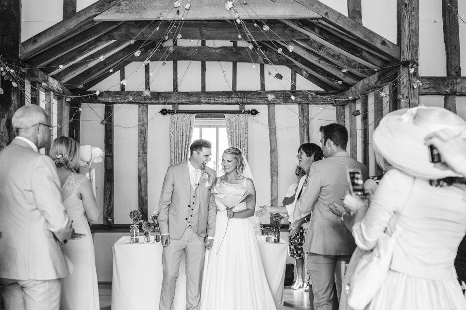 Garden Barn Suffolk wedding photography_tatum reid_blush pink bride_pastel dresses, multicolour, diy wedding decor_succulents_paper flowers_garden games_newmarket (43)