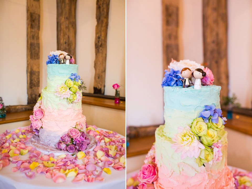 Garden Barn Suffolk wedding photography_tatum reid_blush pink bride_pastel dresses, multicolour, diy wedding decor_succulents_paper flowers_garden games_newmarket (35)