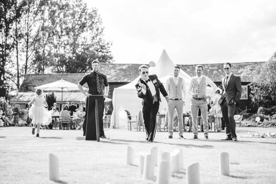 Garden Barn Suffolk wedding photography_tatum reid_blush pink bride_pastel dresses, multicolour, diy wedding decor_succulents_paper flowers_garden games_newmarket (33)