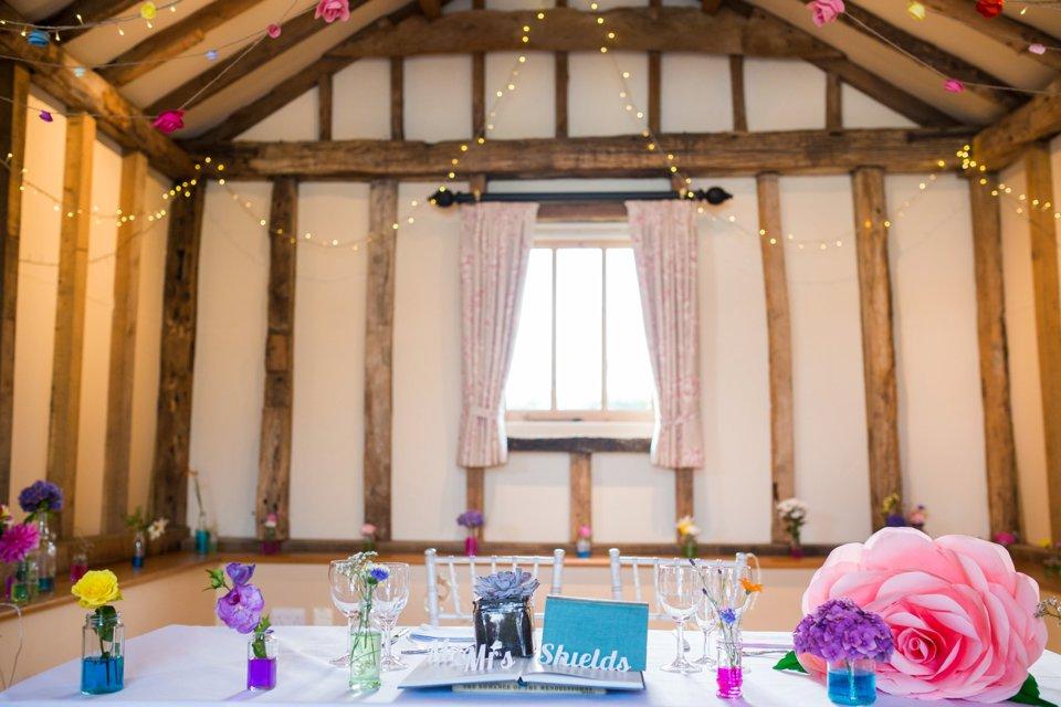 Garden Barn Suffolk wedding photography_tatum reid_blush pink bride_pastel dresses, multicolour, diy wedding decor_succulents_paper flowers_garden games_newmarket (30)