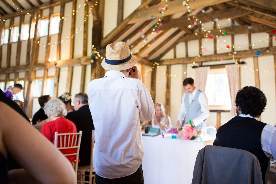 Garden Barn Suffolk wedding photography_tatum reid_blush pink bride_pastel dresses, multicolour, diy wedding decor_succulents_paper flowers_garden games_newmarket (19)