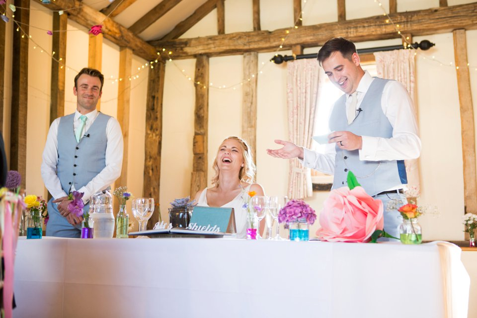 Garden Barn Suffolk wedding photography_tatum reid_blush pink bride_pastel dresses, multicolour, diy wedding decor_succulents_paper flowers_garden games_newmarket (17)