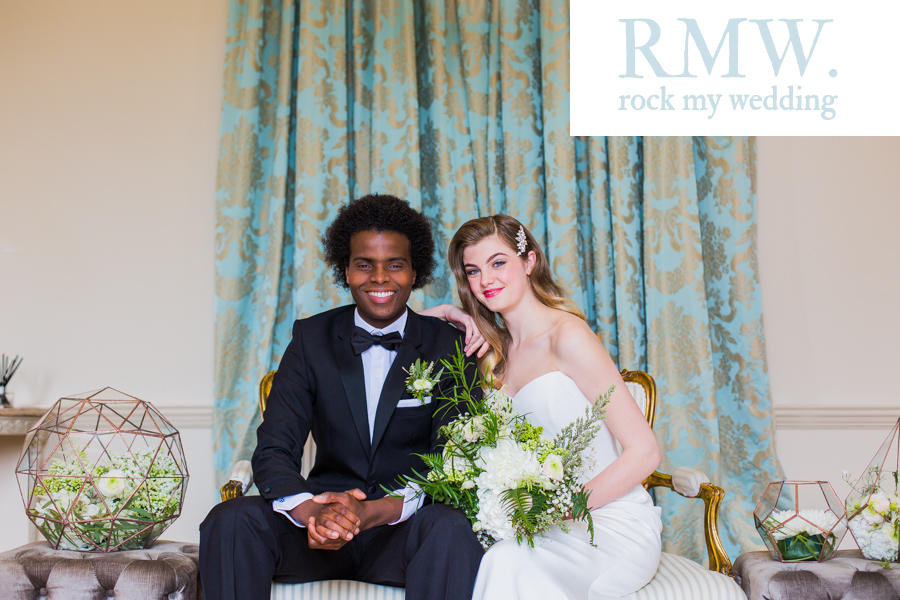 WHITE & GOLD ELEGANT INSPIRATION AS FEATURED ON ROCK MY WEDDING
