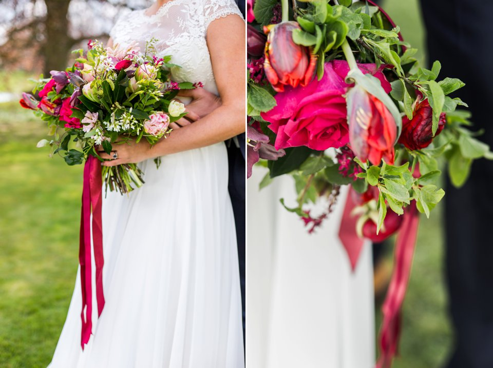 Narborough Hall gardens_ Norfolk wedding venue_rustic_boho_burgundy_loose flowers_floral crown_calligraphy_tatum reid photography (108)