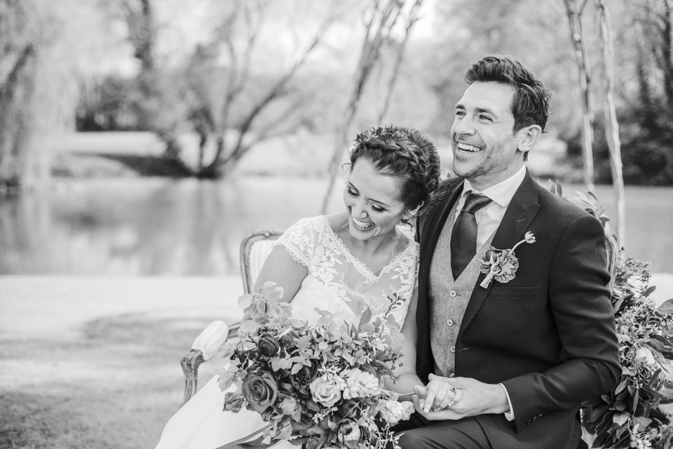 Narborough Hall gardens_ Norfolk wedding venue_rustic_boho_burgundy_loose flowers_floral crown_calligraphy_tatum reid photography (101)