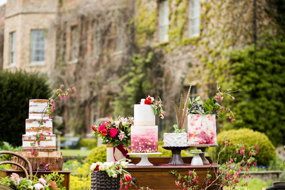Narborough Hall gardens_ Norfolk wedding venue_rustic_boho_burgundy_loose flowers_floral crown_calligraphy_tatum reid photography (82)