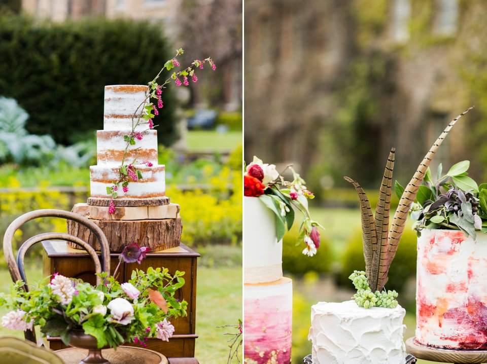 Narborough Hall gardens_ Norfolk wedding venue_rustic_boho_burgundy_loose flowers_floral crown_calligraphy_tatum reid photography (81)