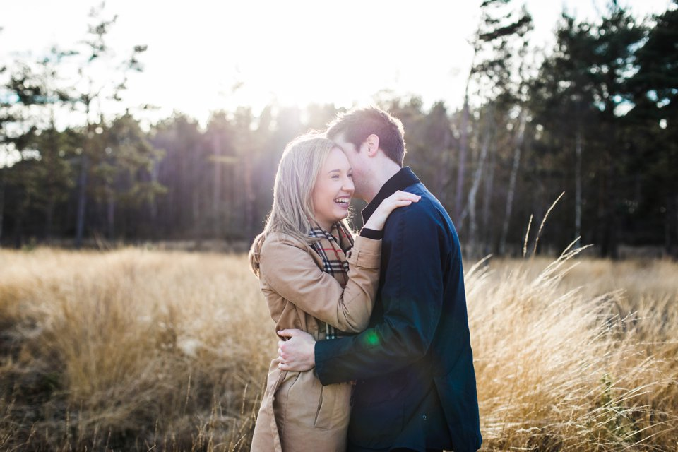 Norwich norfolk woodland engagement winter prewedding shoot with earth tones_beige mac and scarves_©tatum reid (15)