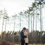 Norwich norfolk woodland engagement winter prewedding shoot with earth tones_beige mac and scarves_©tatum reid (8)