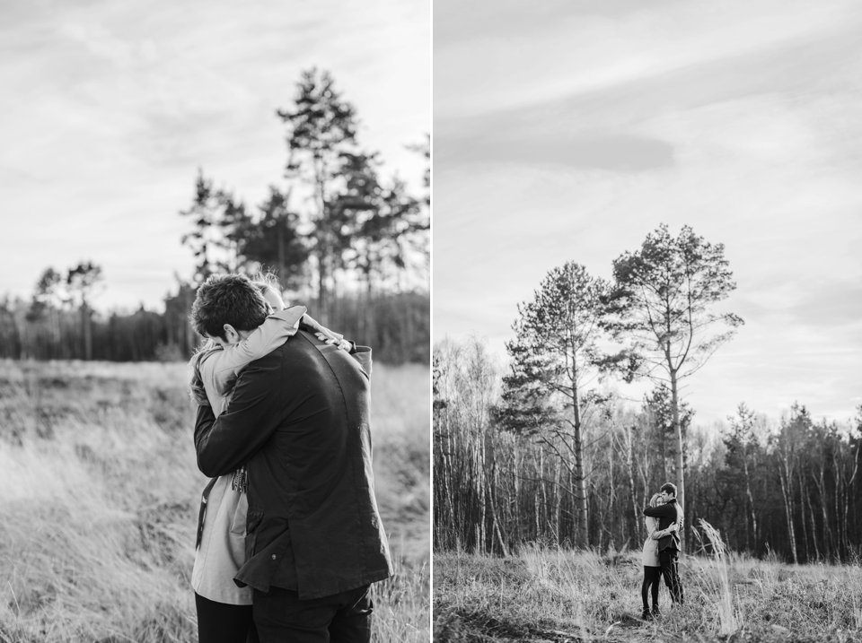 Norwich norfolk woodland engagement winter prewedding shoot with earth tones_beige mac and scarves_©tatum reid (7)