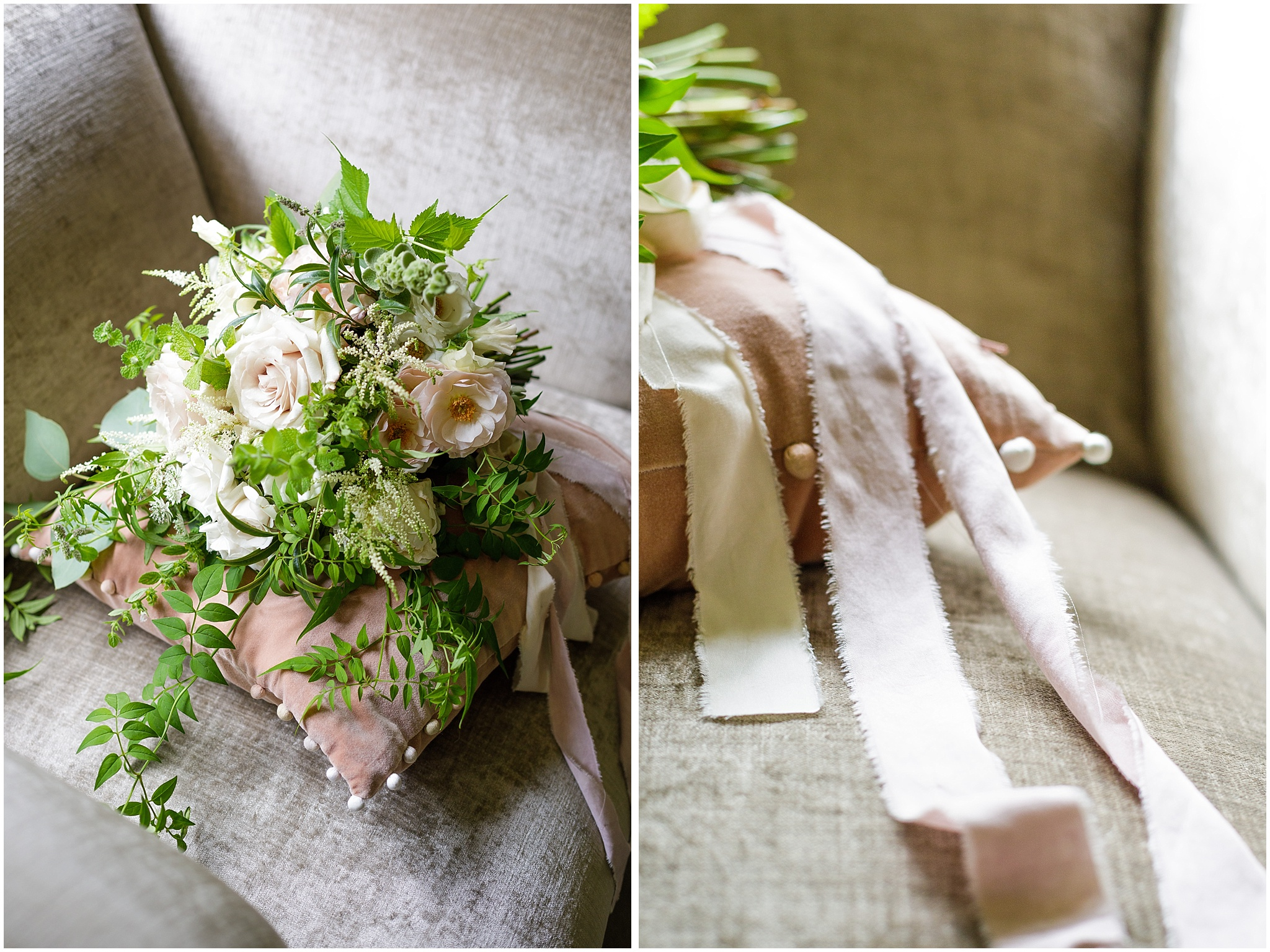 loose blush wedding bouquet rustic bramble and berry -the hoste wedding photorapher