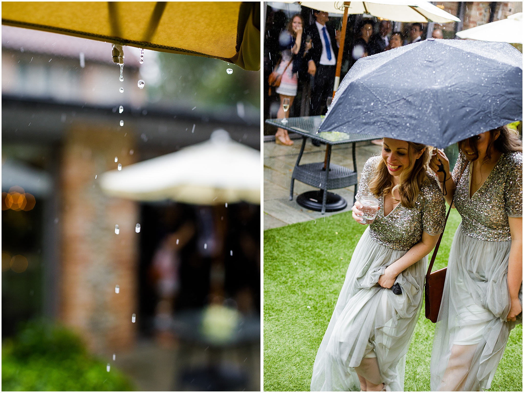 rainy wedding day idea norfolk wedding east anglia wedding photographer