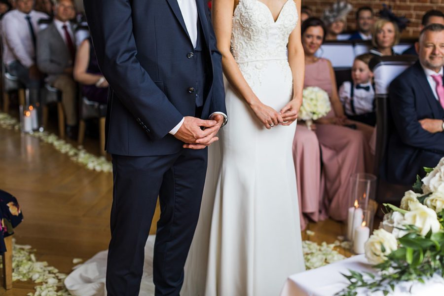 Southwood Hall wedding elegant black tie