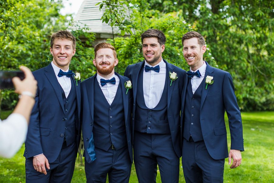 Southwood Hall wedding groomsmen