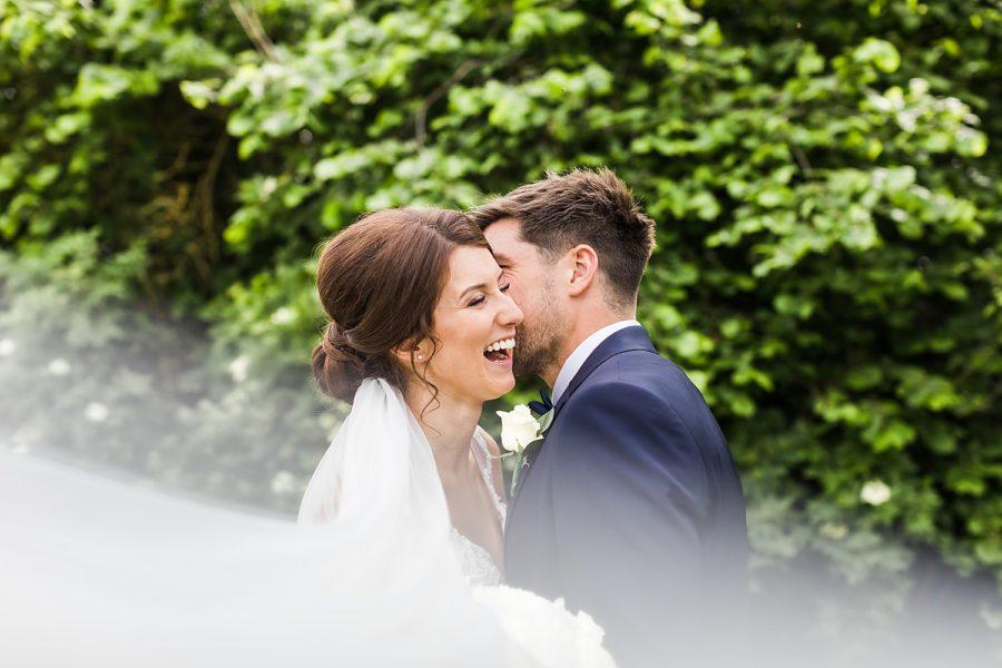 Southwood Hall wedding bride and groom